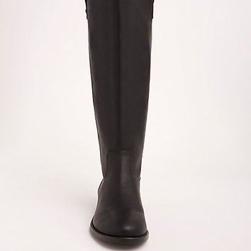 Zip Back Faux Leather Knee-High boots (Wide Width & Wide Calf)
