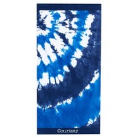 Tie Dye Beach Towel, Blue