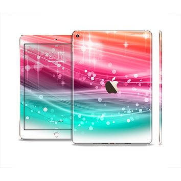 The Vibrant Multicolored Abstract Swirls Skin Set for the Apple iPad Air 2