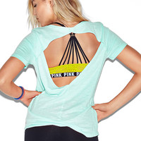Diamond Back Tee - PINK - Victoria's Secret