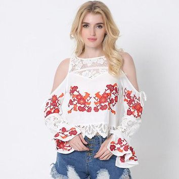 Peekaboo Flower Girl Top