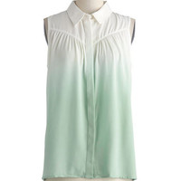 Make Mine Mint Top | Mod Retro Vintage Short Sleeve Shirts | ModCloth.com