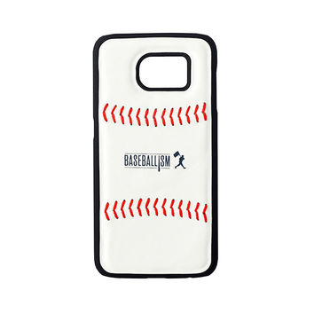 Baseball Leather Phone Case (Galaxy S6)