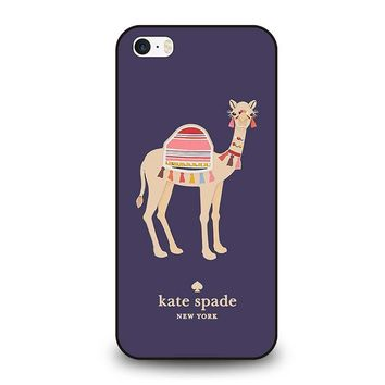 KATE SPADE APPLIQUE CAMEL iPhone SE Case Cover
