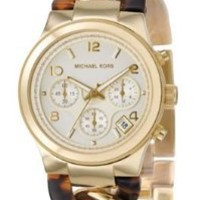 Michael Kors Two-Tone Runway Twist Women's Watch
