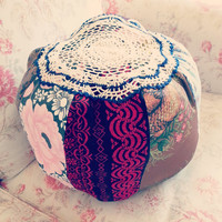 Small Magic Pouffe Custom Made For You - Pick your Fave Colour Decorative Cushion, Living Room Decor Ideas, Home Decor, Gift for him or her