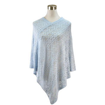 Knitted Lightweight Poncho