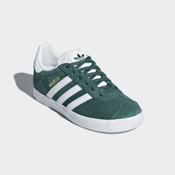 adidas Gazelle Shoes - Green | adidas UK