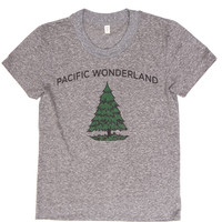 Pacific Wonderland Women's Tee - Bridge & Burn - Portland, Oregon