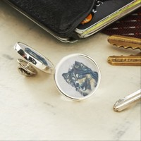 Shetland Sheepdog Painting Lapel Pin