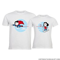 Made for Loving You™ His & Hers Matching Couple Shirt Set