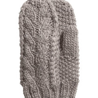 H&M Cable-knit Mittens $9.95