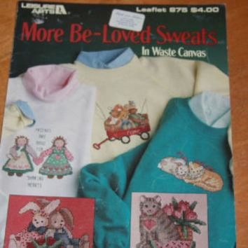 Cross Stitch Pattern Sweatshirts by Debra Jordan Meyer
