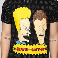 Beavis And Butthead Tee - Urban Outfitters
