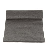 Fendi Gray Silk Scarf