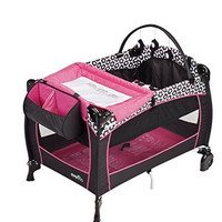 Evenflo Portable BabySuite with Dual-Pocket