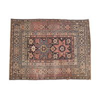 4x5.5 Antique Shirvan Rug