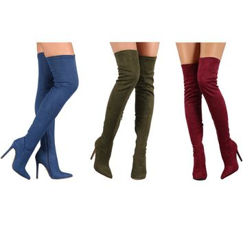 Joanna Over The Knee Boots