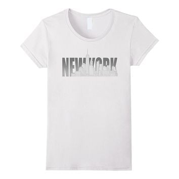 NYC New York City Skyline Souvenir Freedom Tower T-shirt