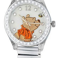 Winnie the Pooh Women's Watch with Rhinestones WP2717