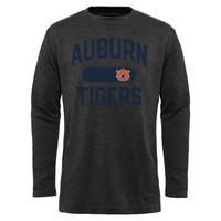 Auburn Tigers Straight Out Long Sleeve Thermal T-Shirt - Charcoal