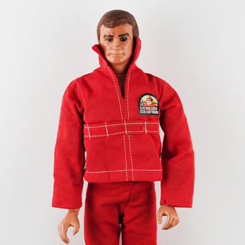 "Six Million Dollar Man, Steve Austin 12"" Action Figure, Works"