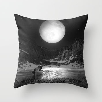 Somewhere You Are Looking At It Too Throw Pillow by Soaring Anchor Designs   Society6