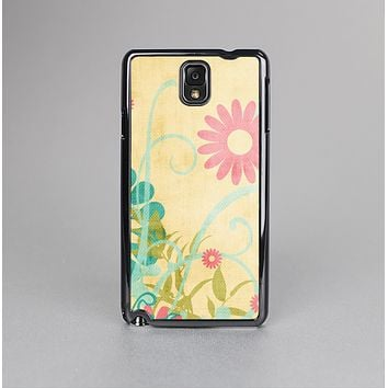 The Vintage Golden Flowers Skin-Sert Case for the Samsung Galaxy Note 3
