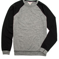Rag & Bone Grey and Black Raglan Tee