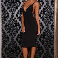 Abyss by Abby KYLIE Black Cocktail Dress