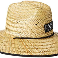Billabong Men's Spectator Straw Lifeguard Hat, Natural, One Size