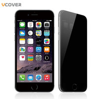 Vcover 3D Full cover Anti Spy Tempered Glass For iPhone 7 Soft  Edge Screen Protector For iPhone7 plus Phone film For i7 plus