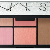 NARS Virtual Domination Cheek Palette Laguna Bronzer Deep Throat Blush Highlighting Blush Powders 4 Blushers 1 Bronzer XMAS 2014 Limited Edition