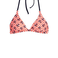 Delia's Nautical Neon Halter