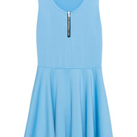 Summer Skater Dress in Blue