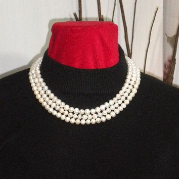 MAYCAS Bridal  Casual REAL Fresh Water Pearls by maycascollection