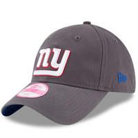 Women's New York Giants New Era Graphite Preferred Pick 9TWENTY Adjustable Hat