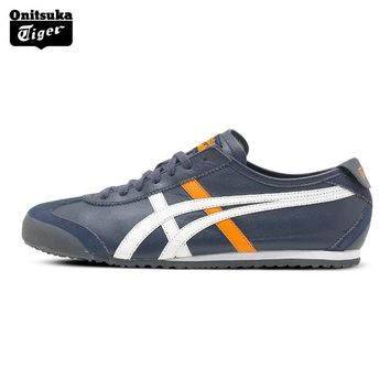auguau 2017 ONITSUKA TIGER MEXICO 66 Men's Shoes Breathable Leather Men Sport Shoes Sneakers Lightwei Trainers Athletic Shoes D4J2L