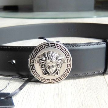 VERSACE COUTURE GÜRTEL 90CM donatella gianni medusa belt 90 cm leder leather
