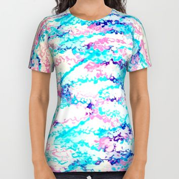 Birthday Cake All Over Print Shirt by Jessica Ivy