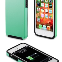 Acase iPhone 5s Case / iPhone 5 case - Superleggera PRO Dual Layer Protection case (Coral Green)