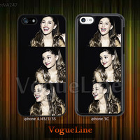 iPhone 5 case iPhone 5c case iPhone 5s case iPhone 4 case iPhone 4s case, Phone covers, Skins, Ariana grande, iDol --VA247