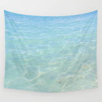 Clear Waters Wall Tapestry by AmeliaDarland