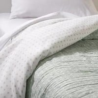 Comforter Reversible Dots Light Green - Room Essentials™