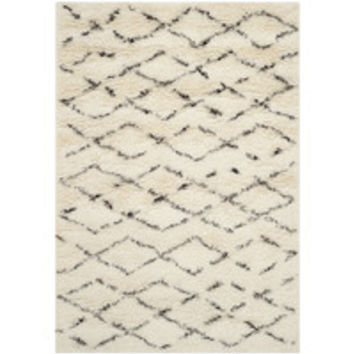 Langley Street Bermondsey Tan/Brown Shag Area Rug & Reviews | Wayfair