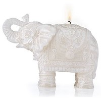 Carved Elephant Candle | Candles & Home Fragrance | Home Accents | Decor | Z Gallerie