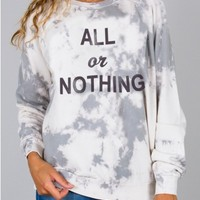 Junk Food Clothing - All Or Nothing Fleece - New Arrivals - Womens