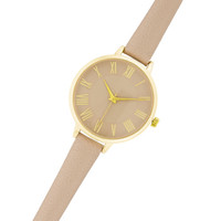 Womens Analog Watch Taupe