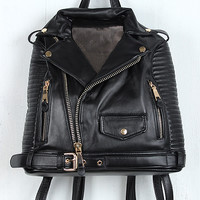 Biker Jacket Backpack