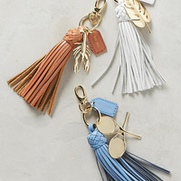 Resort Tassel Keychain